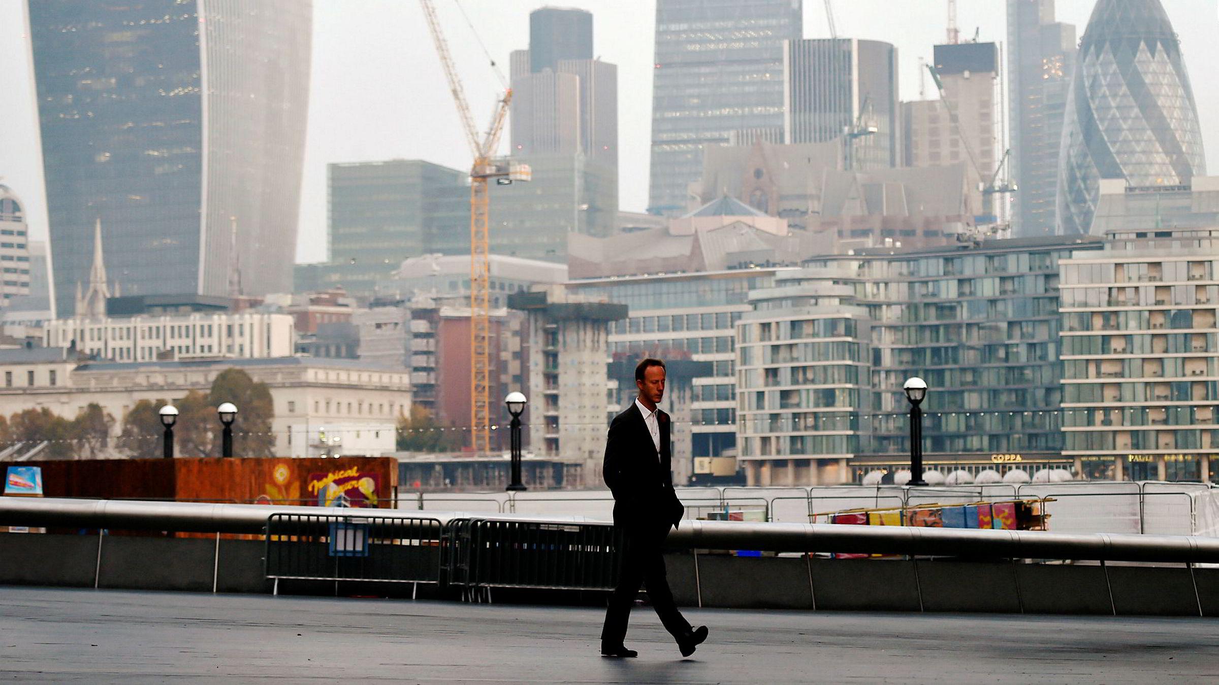 Finansdistriktet i City of London kan rammes hardt av lovendringer i EU.