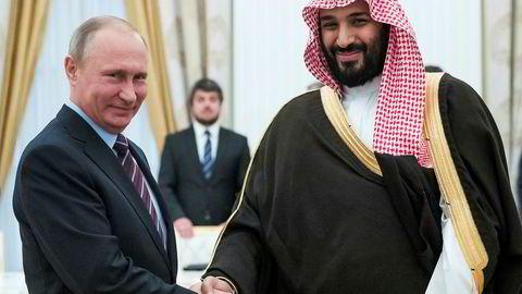 Den Opec-ledede avtalen om å redusere produksjonen har bidratt til å «stabilisere situasjonen i verdens hydrokarbonmarkeder», sa Russlands president Vladimir Putin på et møte i Moskva med Saudi-Arabias visekronprins Mohammed bin Salman 30. mai.