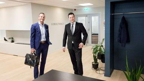 Styreleder Tore Hopen i JO Capital og Tore Malme i Forvaltningshuset kjenner hverandre godt fra styreverv i forbruksbanken Monobank. Nå går JO Capital inn i det uavhengige rådgivningsselskapet for å skape en ledende aktør i forvaltningsbransjen.