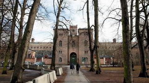 Inngangspartiet til «Botsen» i Oslo på Grønland er fra 1851. Det stengte og vernede fengselet legger beslag på en 100 mål stor tomt sentralt i hovedstaden og kan bli lagt ut til salgs.