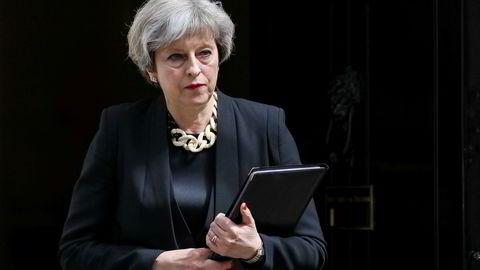 Storbritannias statsminister Theresa May.
