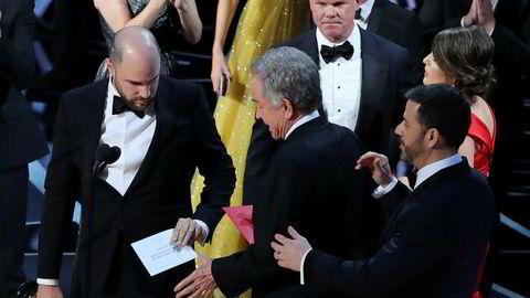 «La La Land» ble feilaktig ropt opp som vinner av beste film under Oscar-kåringen i forrige uke. Det var filmen «Moonlight» som vant. PwC har senere beklaget tabben.