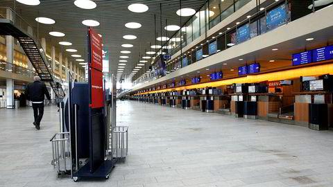 Fra København lufthavn Kastrup i 2010.