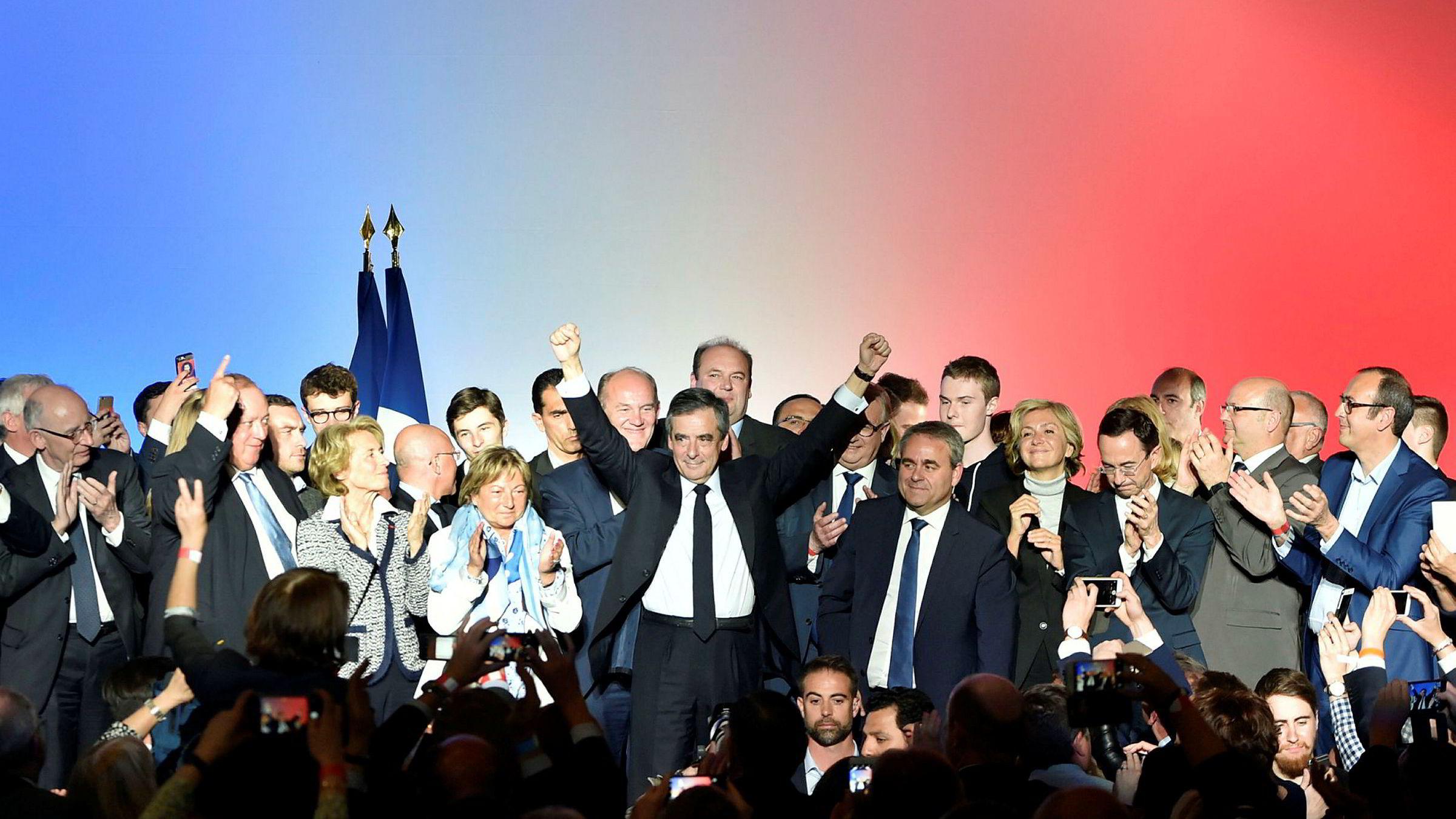 Presidentkandidat François Fillon kan levere et bemerkelsesverdig comeback søndag, etter å ha vært politisk død for bare noen uker siden.