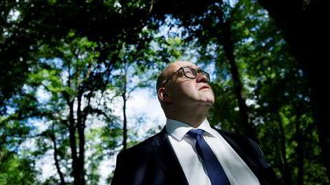 Morten Klein har tjent 300 millioner kroner på børs så langt i år, men sier at det bare er papirpenger.