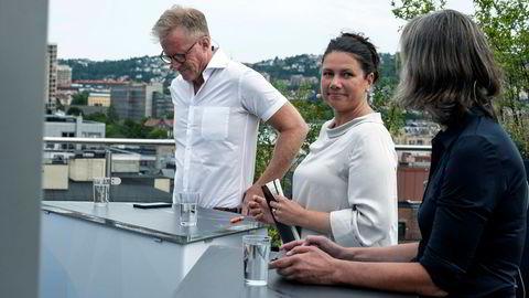 Oslomet-rektor Curt Rice, stortingspolitiker for Høyre Heidi Nordby Lunde og advokat Ramborg Elvebakk i Hjort  diskuterte kvinners stilling under koronatiden.