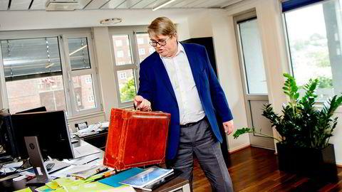 Forvalter Jan P. Sisseners forvaltningsfond gikk på en smell i oktober.