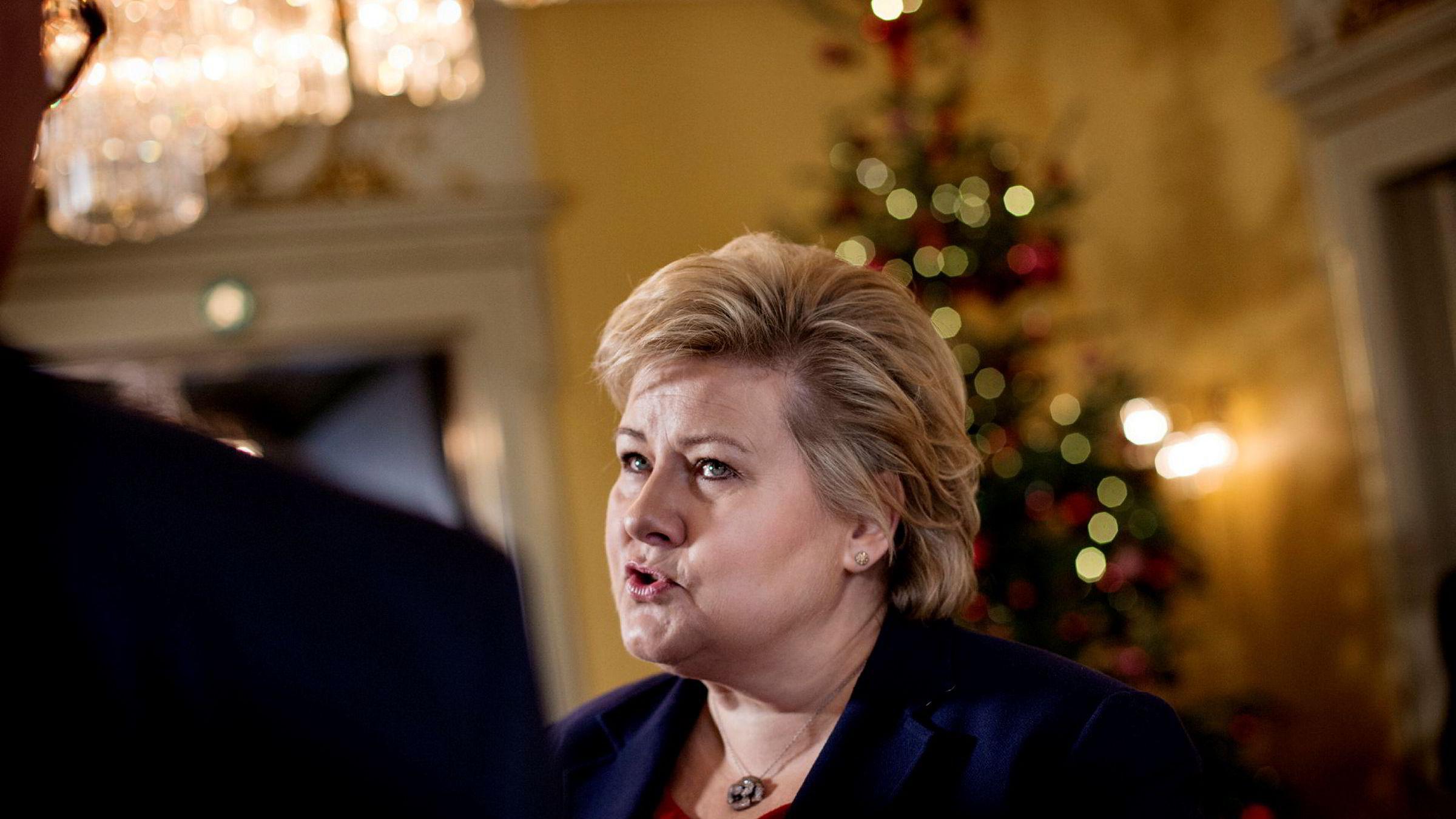Statsminister Erna Solberg er klar til å forhandle om bilaterale avtaler med Kina etter at de diplomatiske forholdene nå er normalisert.