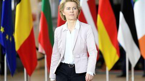 Europakommisjonens nye president Ursula von der Leyen må sørge for å skape politikk og globale løsninger, ikke ende i en skvis mellom de to store, Kina og USA, mener artikkelforfatteren.