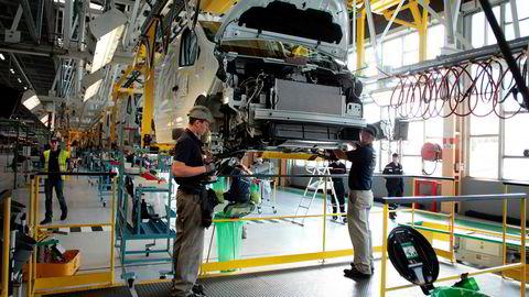 Produksjonen ved flere Renault-fabrikker er stanset som følge av virusangrepet.