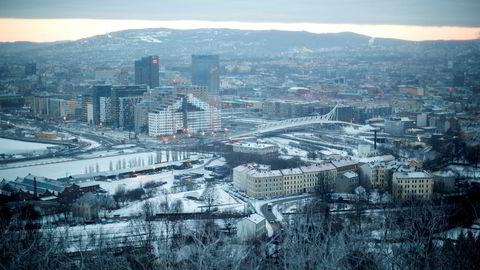 Boligprisene har steget kraftig i Oslo det siste året. I januar i år var prisene 23,1 prosent høyere enn samme måned i fjor, ifølge tall fra Eiendom Norge.