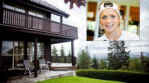 Therese Johaug (29) har kjøpt en større enebolig i Holmenkollveien.