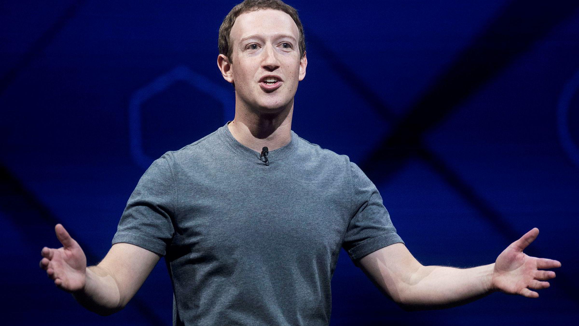 Investorer har forhåpninger om at roboter kan ta over mye av moderatorjobben på Facebook. Men selskapets toppsjef, Mark Zuckerberg, mener det kan ta tid.