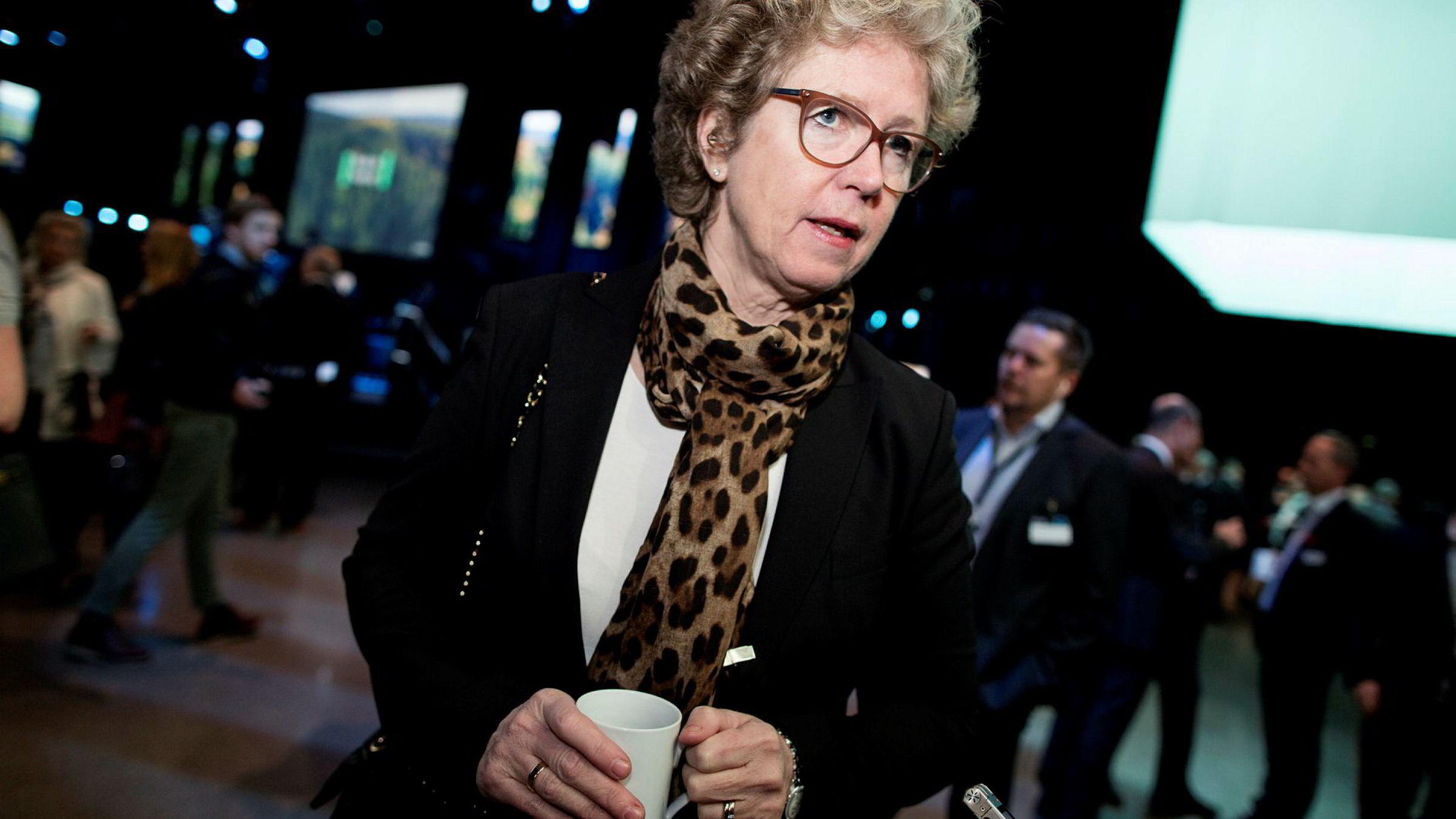 Trenger gode vilkår for industrien. Hydro-konserndirektør Hilde Merete Aasheim