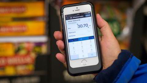 Prisjegere er i konkurrentenes butikker for å skanne priser.
