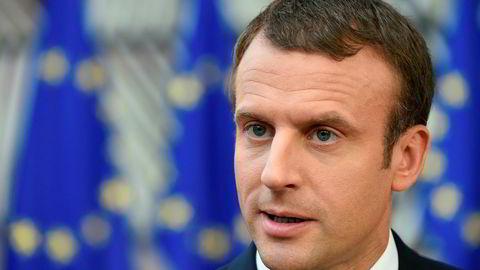 Den franske presidenten Emmanuel Macron ønsker ikke å anerkjenne den russiske annekteringen av Krimhalvøya