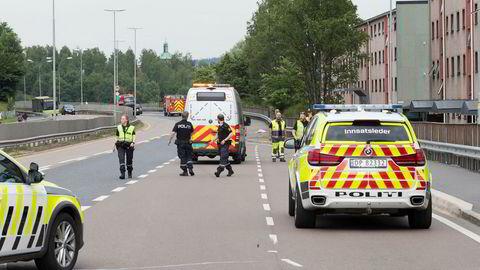 Illustrasjonsbilde: Rekordfå personer er drept i trafikken i Norge så langt i år.