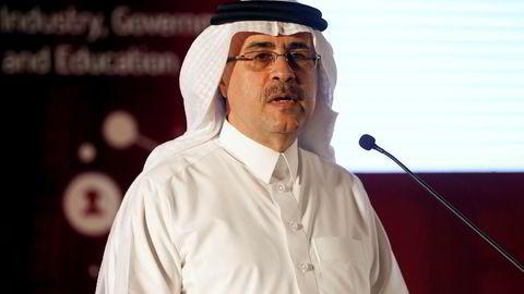 Saudi Aramco-toppsjef Amin H. Nasser, her fra en oljekonferanse i Midtøsten i høst.