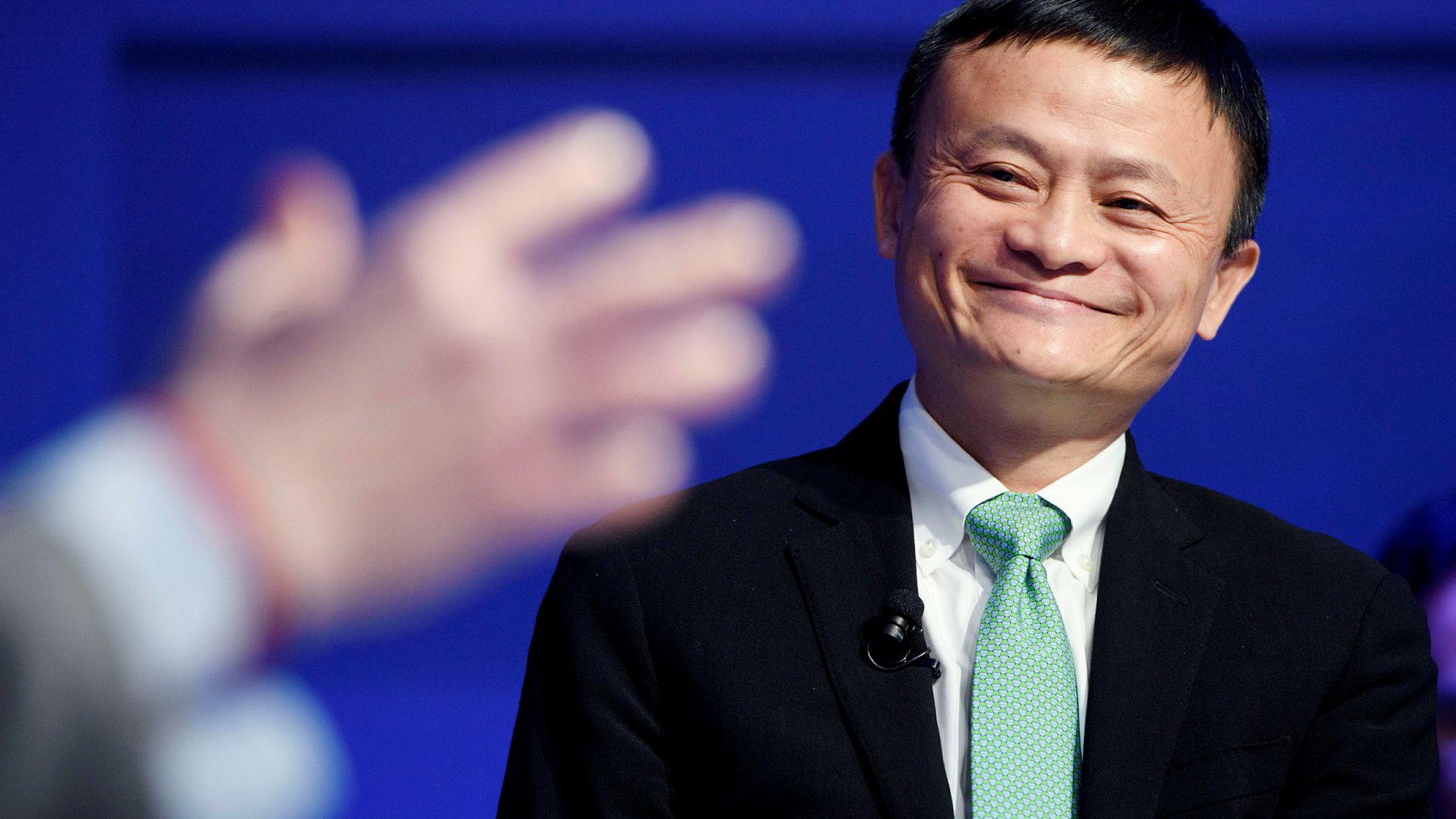 Jack Ma, Alibaba-grunnlegger og mangemilliardær.
