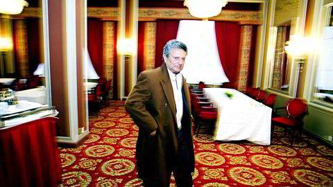 Eltek-gründer Alain Angelil og hans kone Wenche må skatte til Norge for årene 2001–2007 selv om de hadde meldt utflytting til Skottland. Her Alain Angelil i forbindelse med en kvartalspresentasjon i Eltek i 2007.
