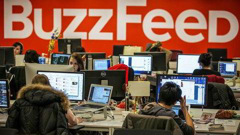 Buzzfeed er et populære nyhets- og delingsnettsted.