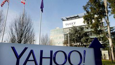 Yahoos hovedkontor i Sunnyvale i California.