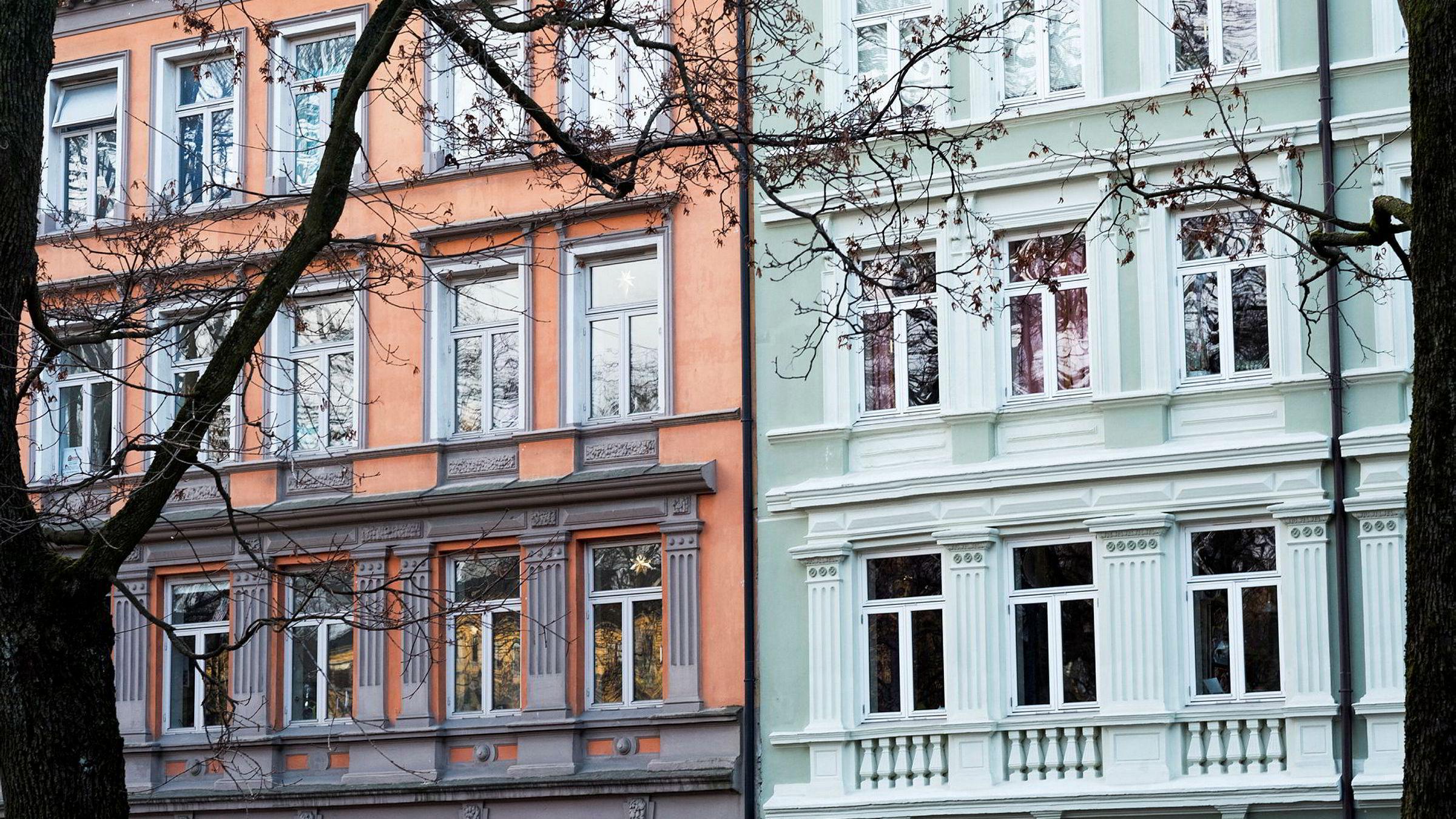 Boligeiere i Oslo har fått boligskatt.