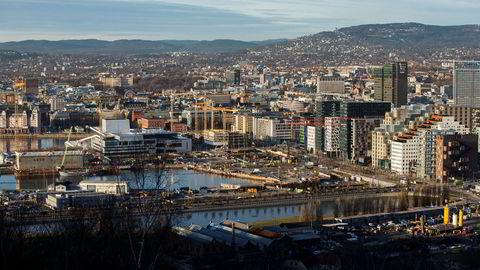 Oslo er en av kommunene som nylig har innført eiendomsskatt.