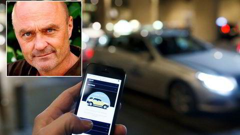 Medierådgiver Jarle Aabø jobber på oppdrag for Taxiforbundet.