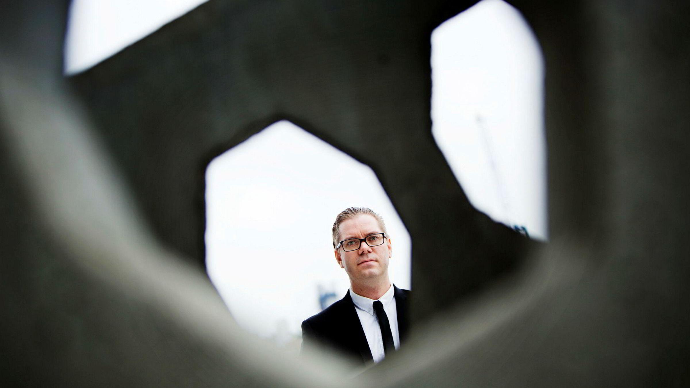 Seniorøkonom Marius Gonsholt Hov i Handelsbanken ble ikke imponert over de siste kpi-tallene.