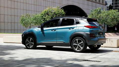 Hyundai Kona lanseres senere i år, men kommer til neste år i elektrisk versjon.