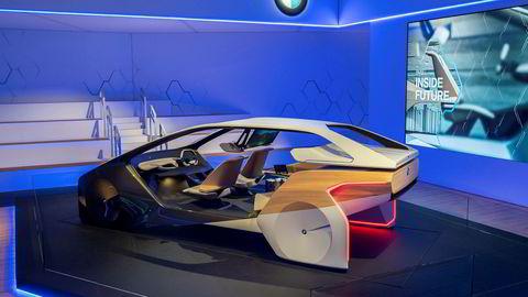 BMW viser et tenkt interiør i skulpturen «i Inside Future».