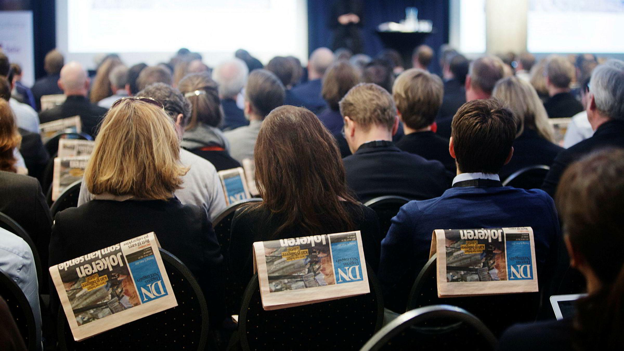 DN arrangerte konferanse om såkalt disrupsjon forrige uke.