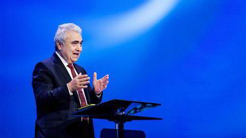 Fatih Birol, sjef ved Det internasjonale energibyrået IEA tror på høyere etterspørsel etter olje.