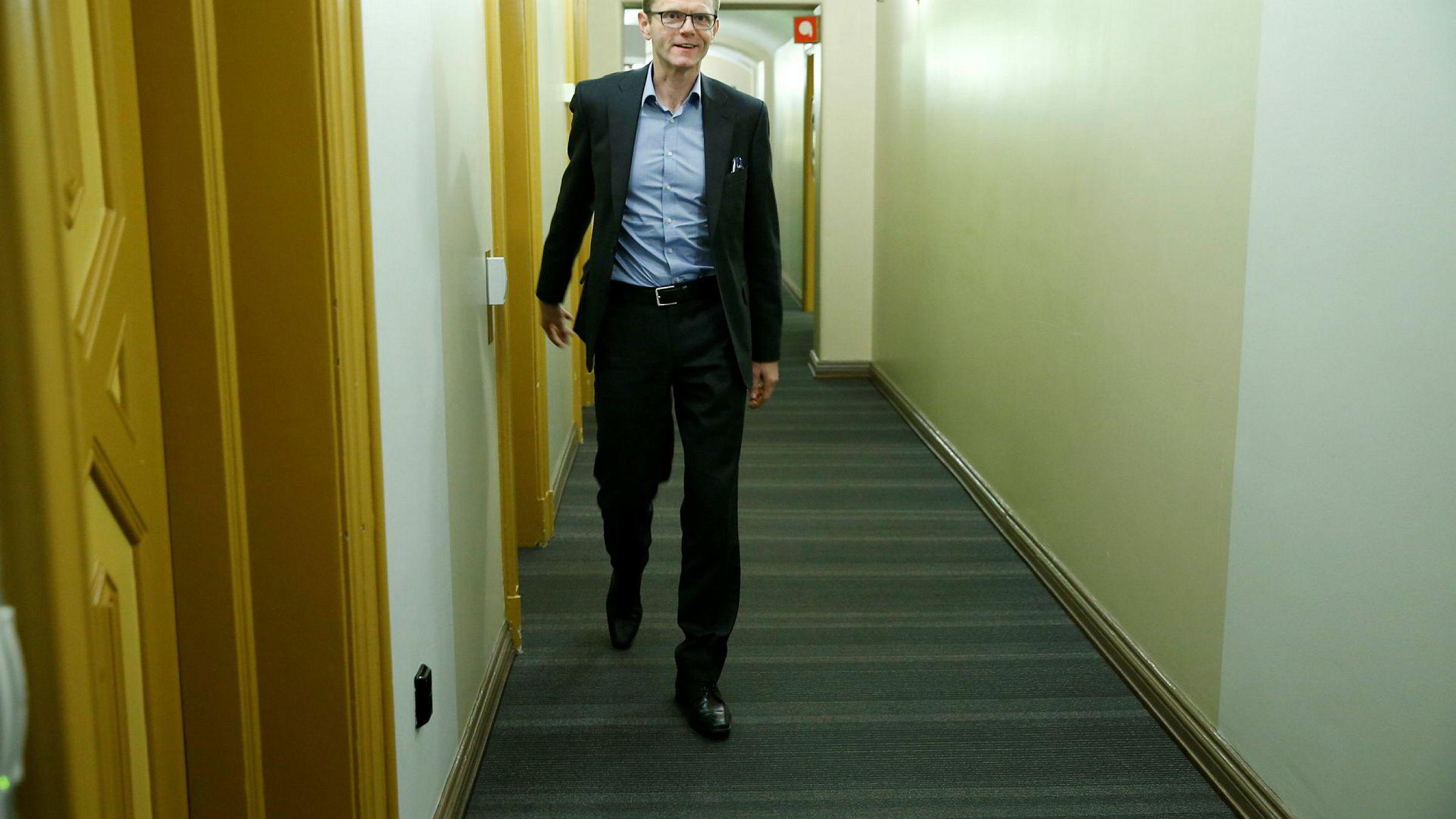 Venstres finanspolitiske talsmann og nestleder, Terje Breivik.