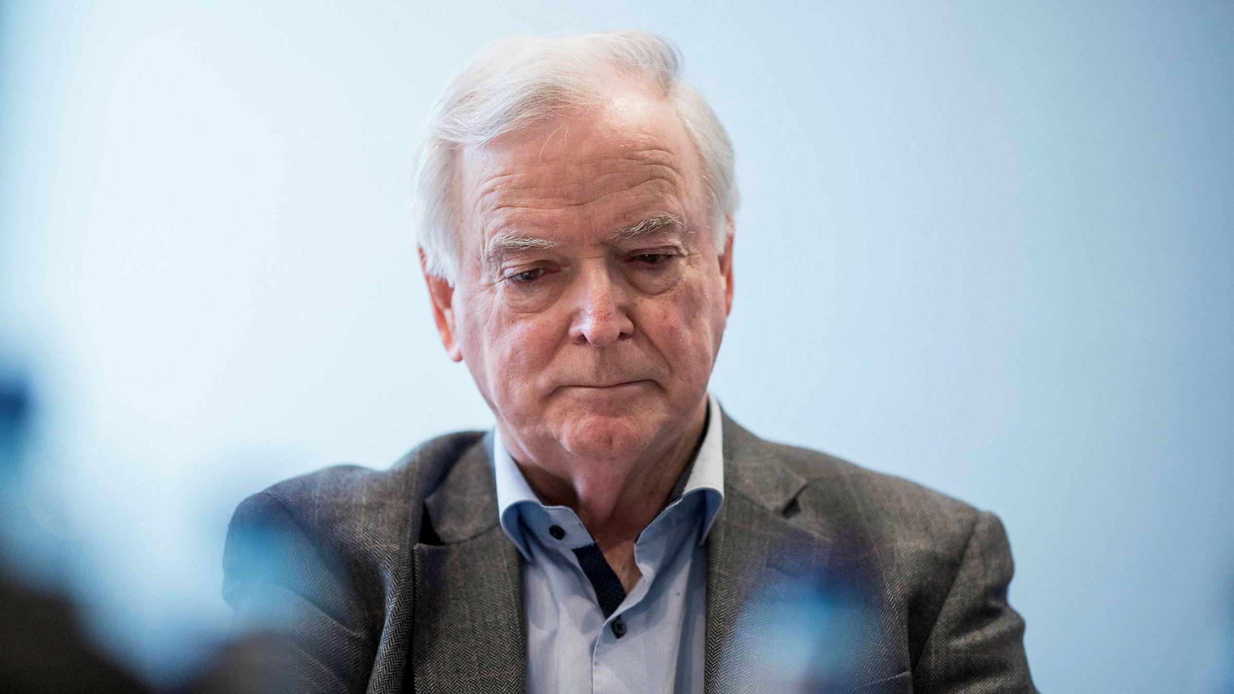 SKJEBNEDAG MANDAG. Styreleder i offshore-rederiet Havila Shipping, og hovedaksjonær i morselskapet Havila Holding AS, Per Sævik.