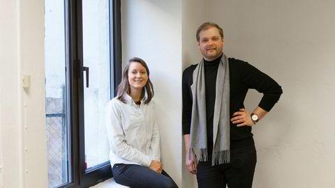 André Wærness-Vold (th.) og Agnes Dyvik i Vio.