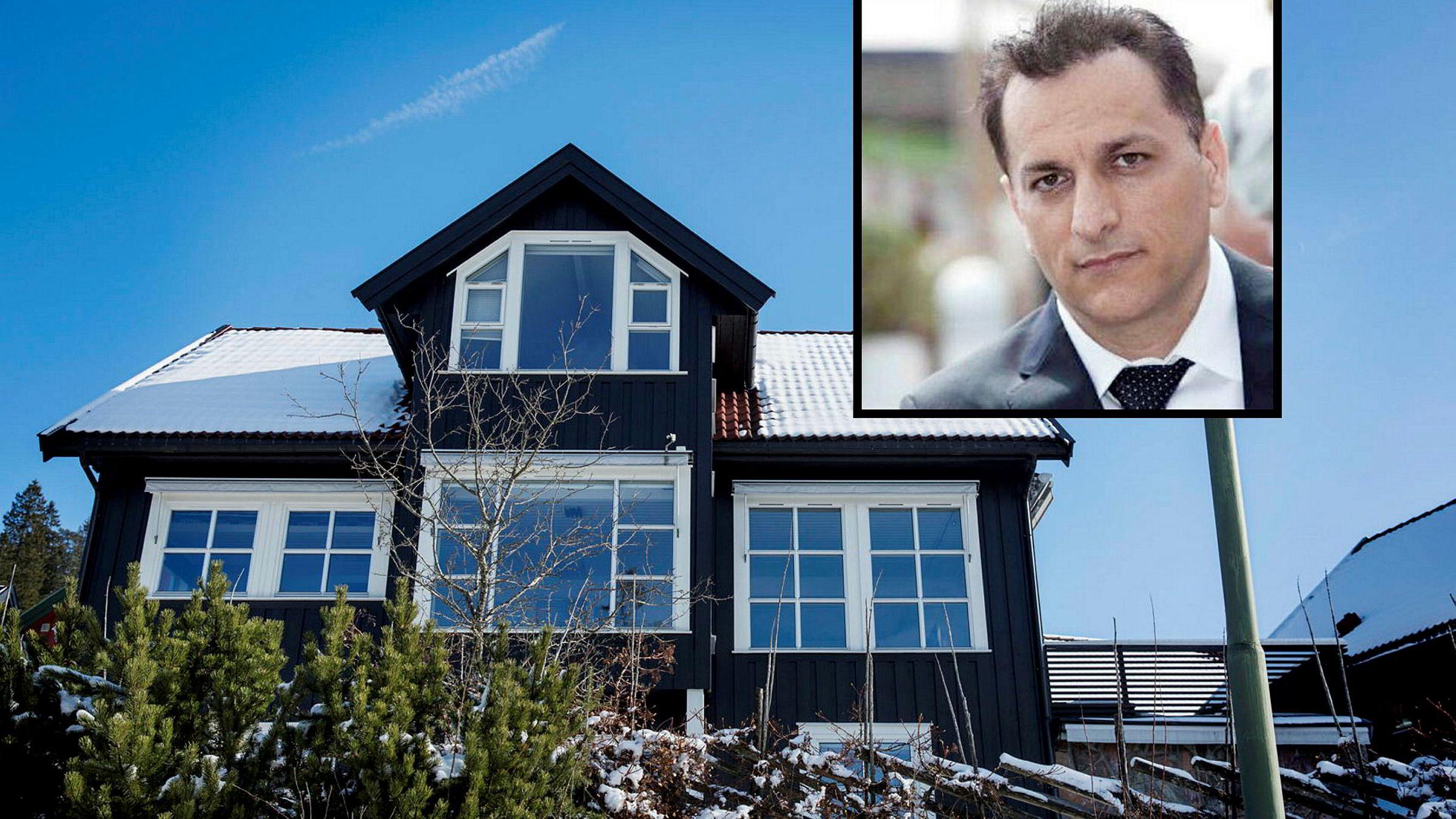 Overlege Mohammad Arabi (48) kjøpt Blåbærsvingen 44 for11,5 millioner kroner. Alle