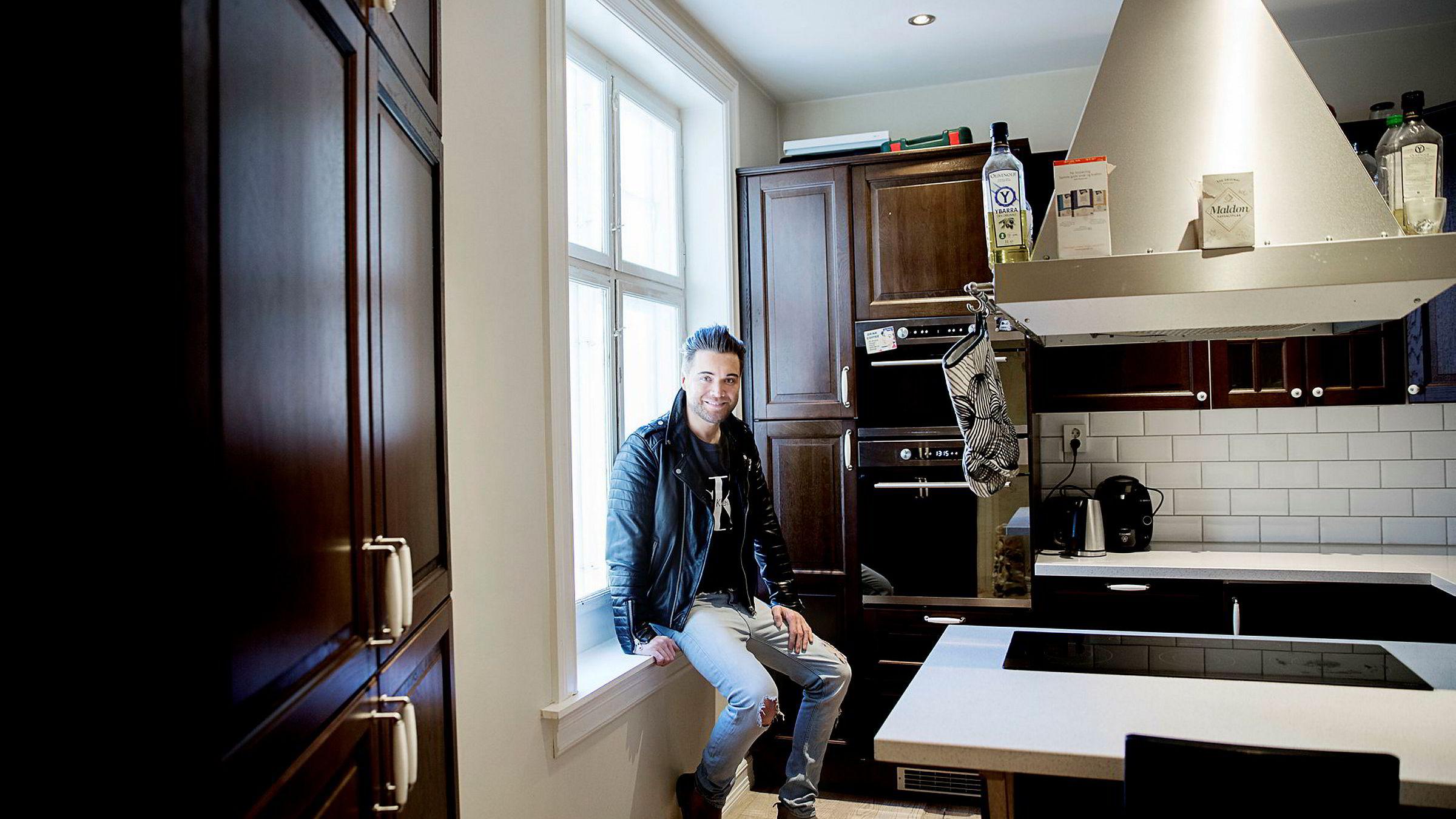 – Nå er livet nærmest snudd på hodet, og jeg lever av utleie, sier Gerhard Bollmann Leknes (36), som har kjøpt boliger verd 40 millioner med oppunder 20 millioner i boliglån.