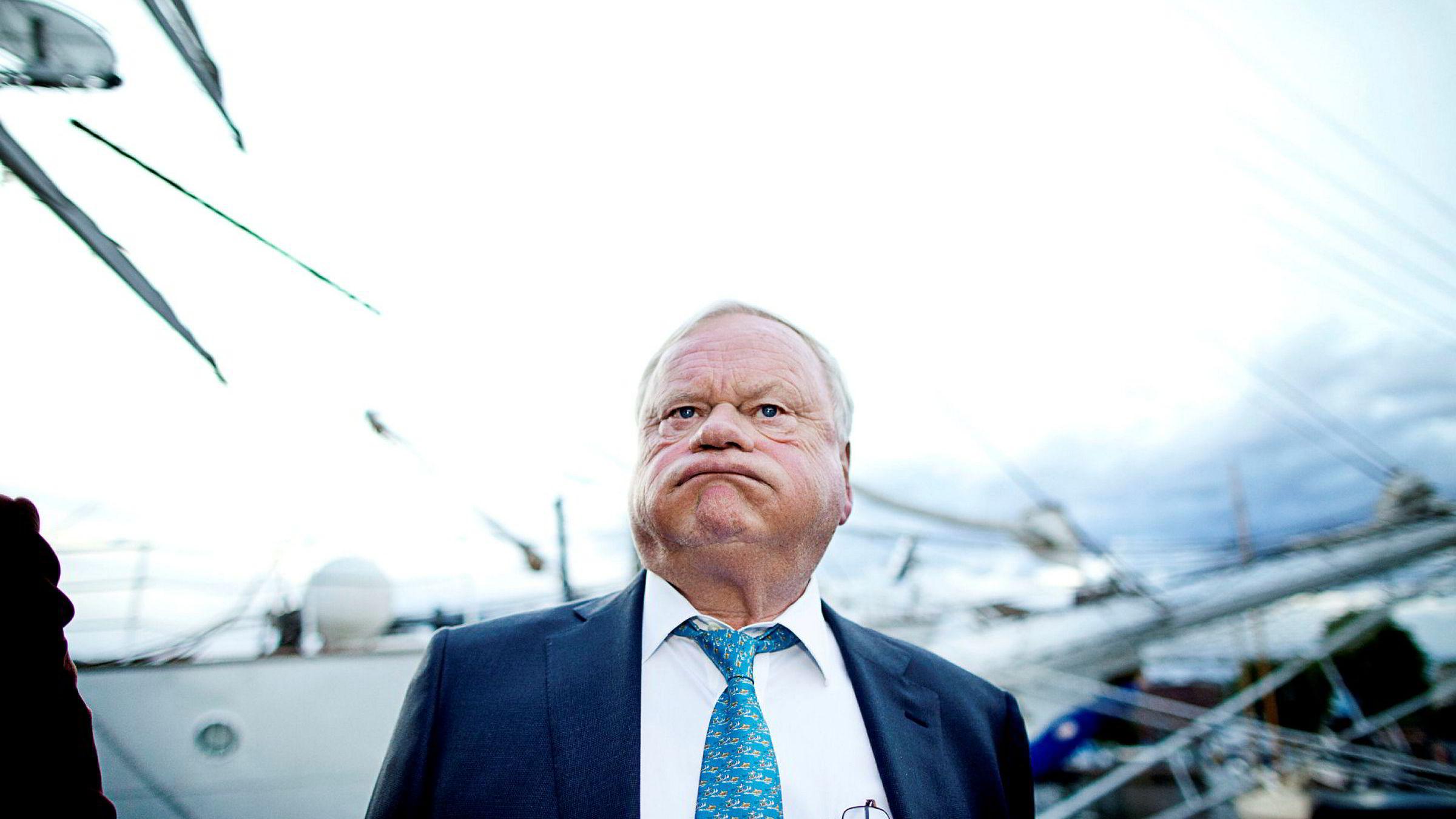 – Dette har vært slitsomt for oss. Det er mye å rydde opp i etter den gjengen, sier John Fredriksens om blant andre sin tidligere forretningspartner Tor Olav Trøim.