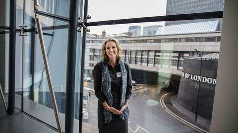 Irene Rummelhoff leder fornybarsatsingen i Statoil. I London, på kapitalmarkedsdagen, ble hun en av de store vinnerne.