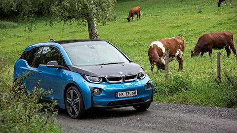 BMW i3 var blant de mest solgte bilene i Norge i mai.