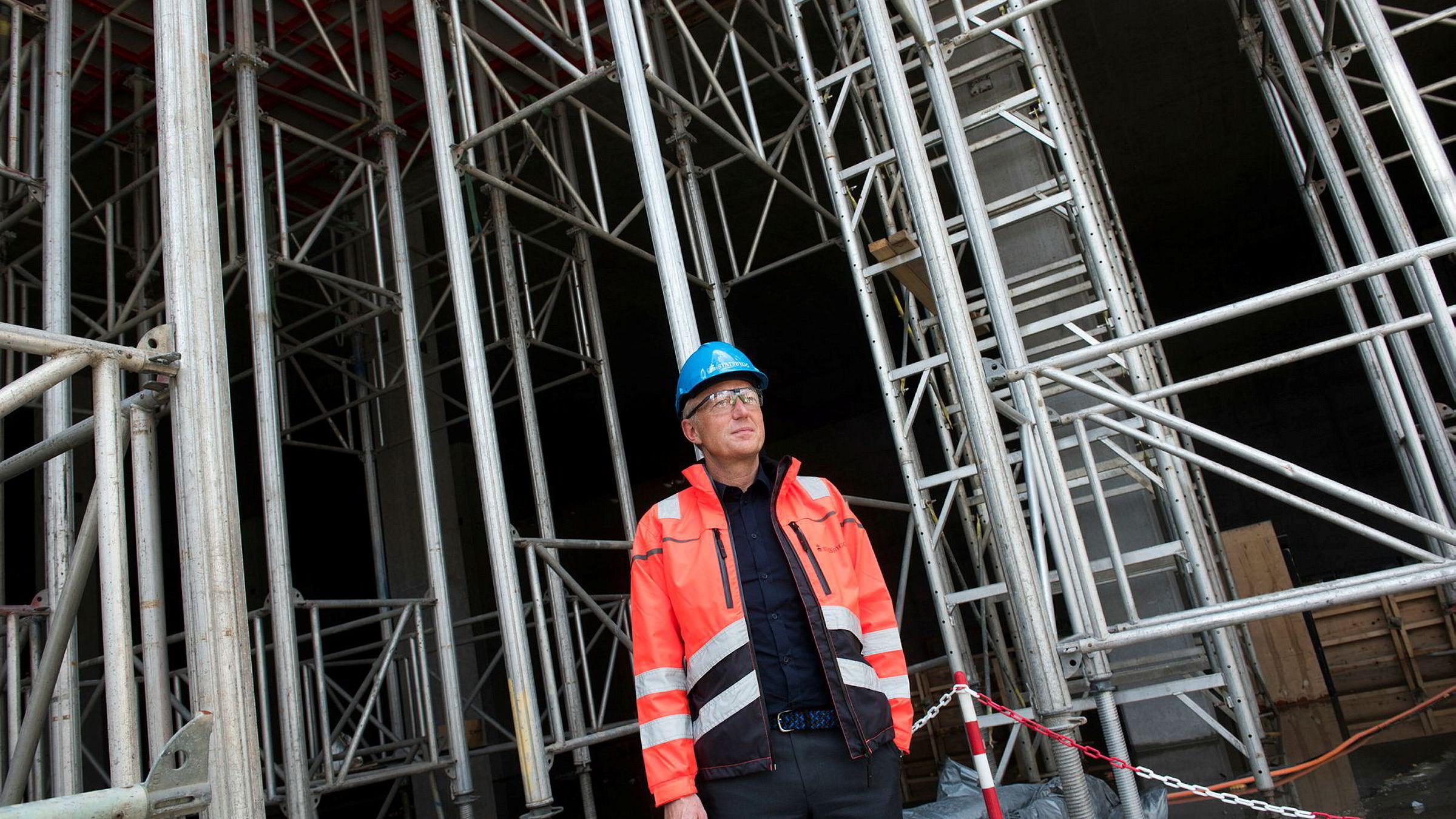 Administrerende direktør Harald Nikolaisen i Statsbygg. Foto: Per Ståle Bugjerde