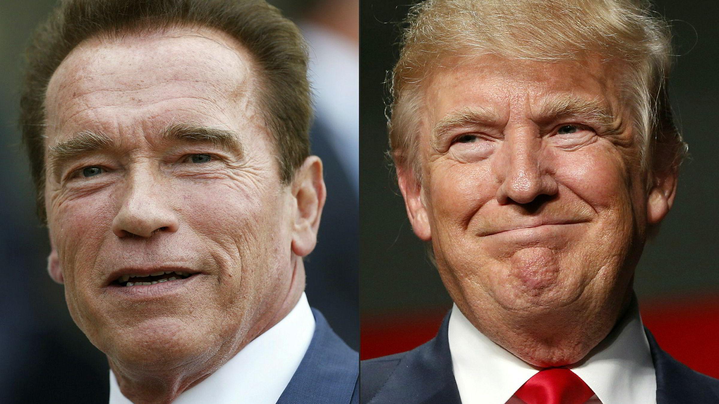 Feiden om seertallene i reality-tv-serien «The Apprentice» mellom Arnold Schwarzenegger og Donald Trump fortsetter fredag.