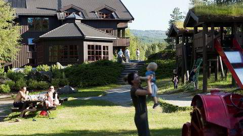 Hunderfossen Hotell & Resort ligger 400 meter fra en av landets største fornøyelsesparker.