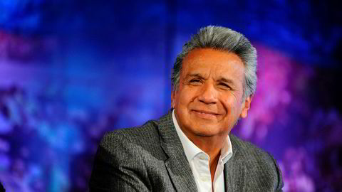 Lenin Moreno er Ecuadors nye president.