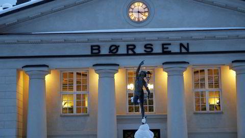Oslo Børs vinter. Foto:Gunnar Lier.