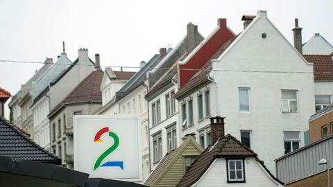Fra TV 2-huset på Nøstet i Bergen