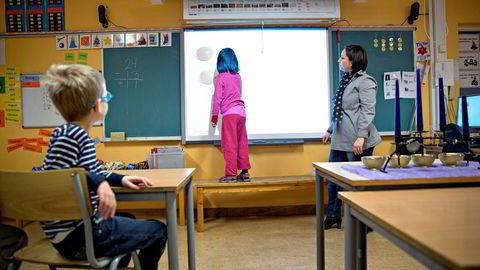 Norske elever har blitt bedre i matematikk. Likevel er det én ting som bekymrer matematikkforsker.