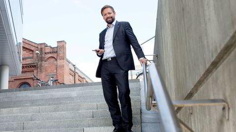 Leder Knut Anders Wangen for Mobilepay Norge, Danske Bank inviterer gjerne flere banker til samarbeid.
